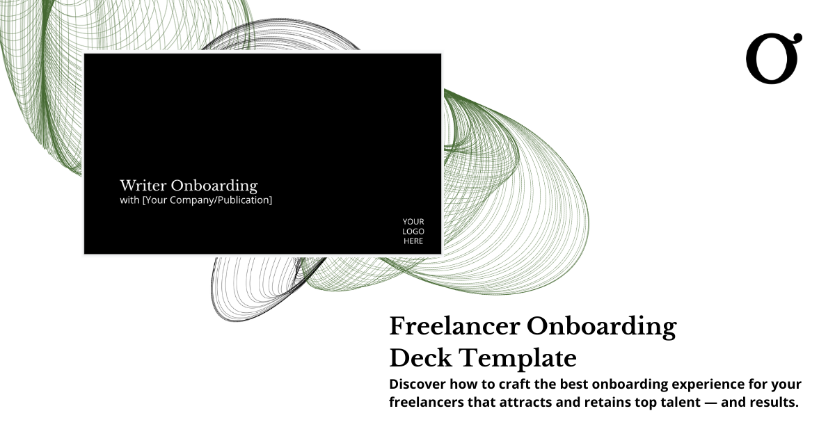 freelancer onboarding deck template content offer omniscient digital