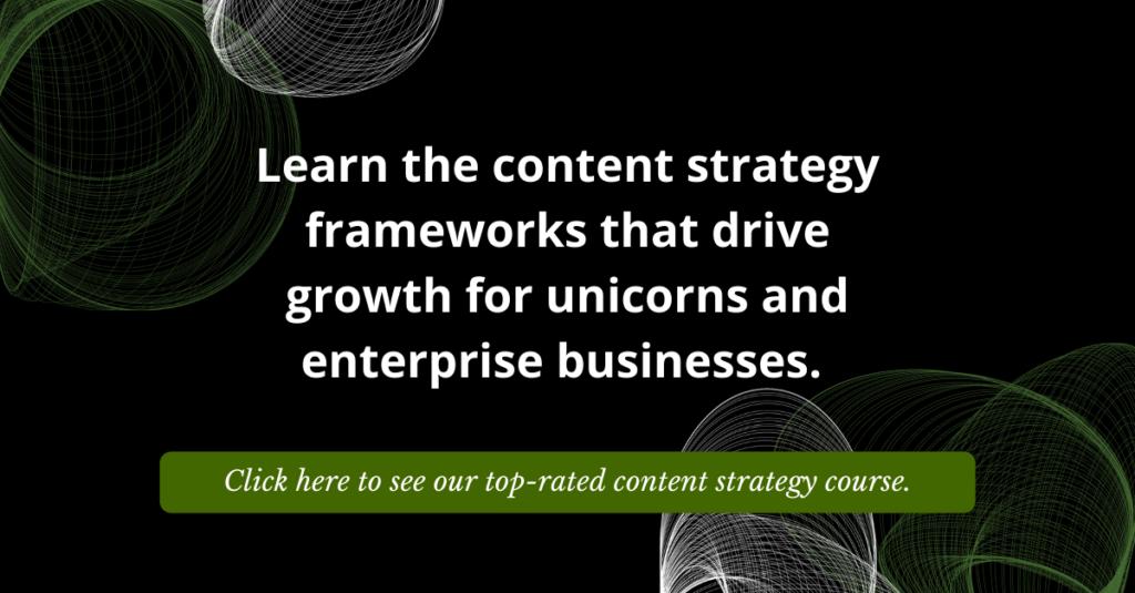 Omniscient Digital Content Strategy Course