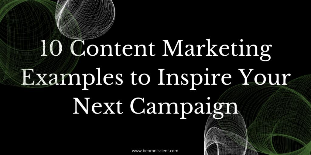 content marketing examples omniscient digital