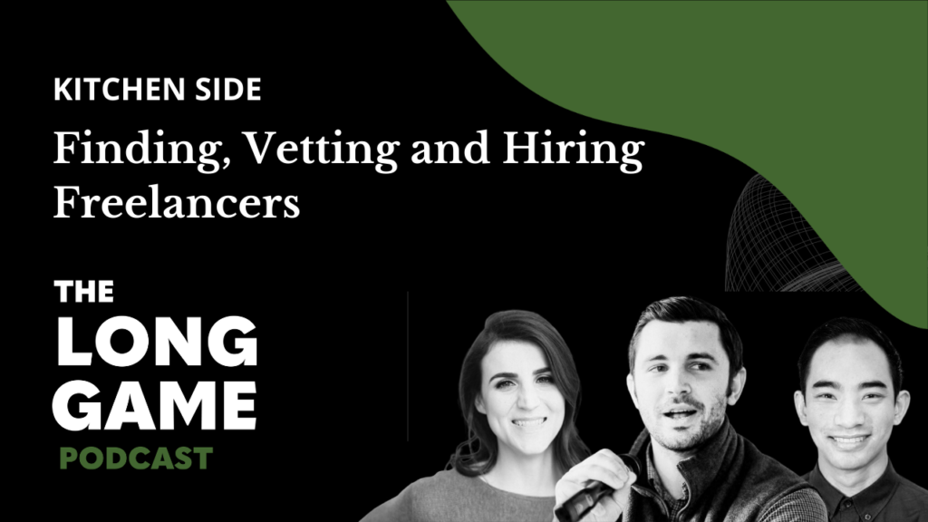 Kitchen Side: Finding, Vetting and Hiring Freelancers