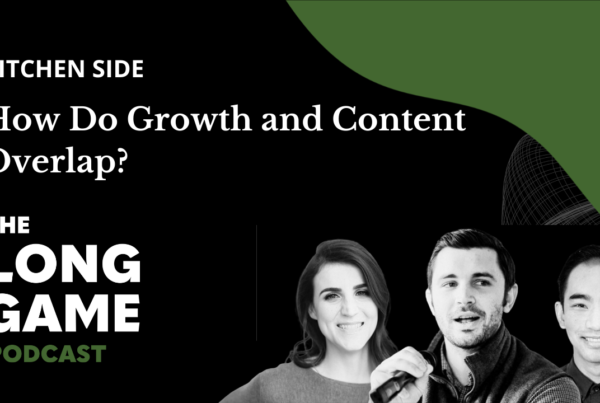 017: Kitchen Side: How Do Growth and Content Overlap?
