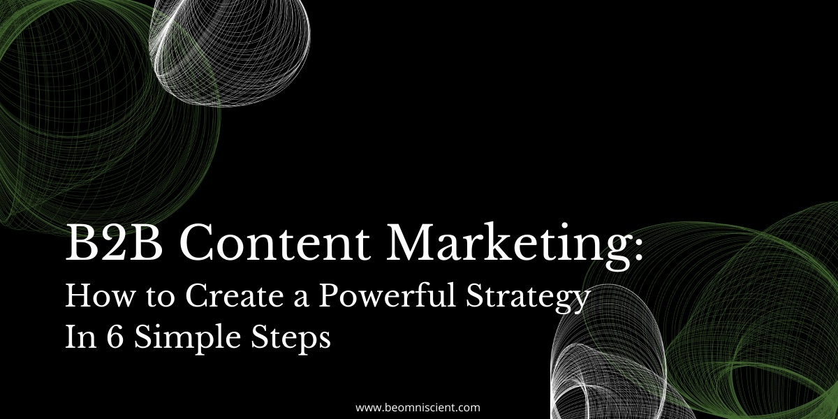 b2b content strategy