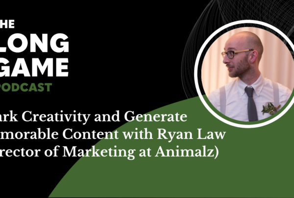 Spark Creativity and Generate Memorable Content with Ryan Law (Director of Marketing at Animalz)