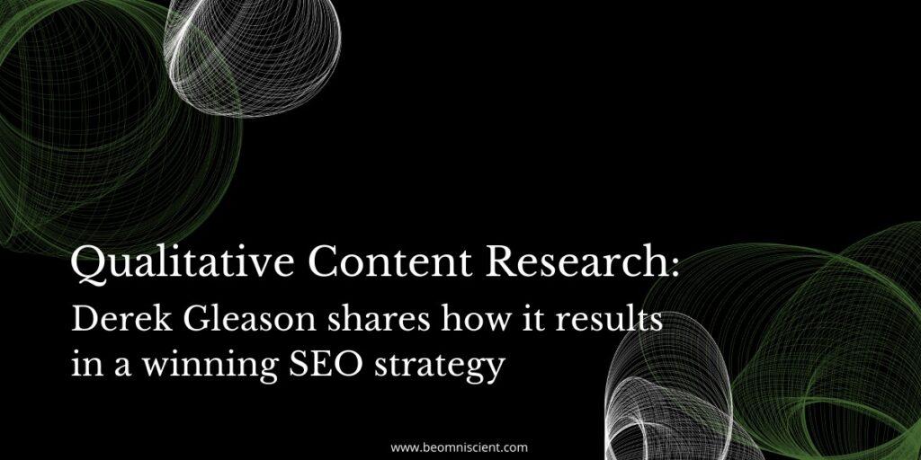 qualitative content research